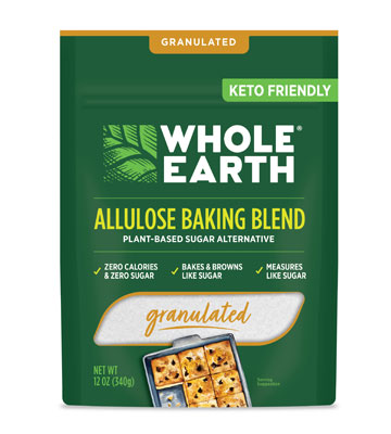 Whole Earth Allulose Baking Blend