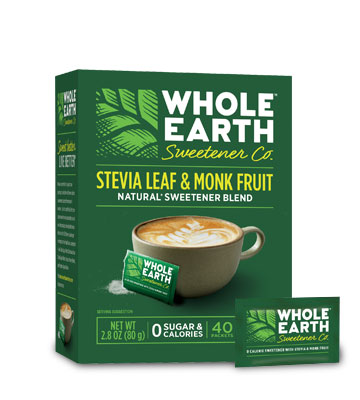 Stevia & Monk Fruit Blend Packets