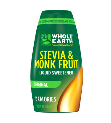 Stevia Leaf & Monk Fruit Sweetener Liquid